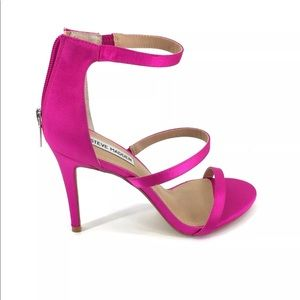 NIB Steve Madden Feelya Sandal High Heel Pink 9.5